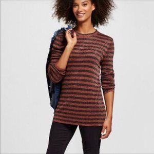 3 for $30 Who What Wear Striped Shimmer Sweater